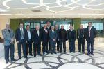 مجلس إدارة جمعية رجال الأعمال الفلسطينيين يعقد إجتماعه الدوري في  المستشفى الإستشاري في ضاحية الريحان