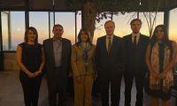 لقاء جمعية رجال الأعمال مع القنصل الفرنسي