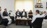 لقاء جمعية رجال الأعمال مع هيئة تسوية الأراضي