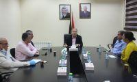 لقاء المجلس التنسيقي مع وزير الاقتصاد الوطني