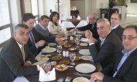 إجتماع لمجلس إدارة إتحاد جمعيات رجال الأعمال الفلسطينيين