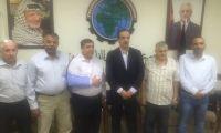 زيارة نائب رئيس جمعية رجال الأعمال الفلسطينيين – القدس الى قطاع غزة