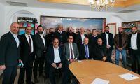بحث سبل التعاون المشترك بين جمعية رجال الأعمال الفلسطينيين – القدس وغرفة تجارة وصناعة محافظة رام الله والبيرة