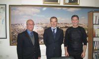 القنصل السياسي البلجيكي يزور مقر إتحاد جمعيات أصحاب الأعمال