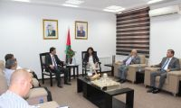 جمعية رجال الأعمال تجتمع مع وزيرة الإقتصاد الوطني