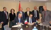 اتحاد جمعيات رجال الاعمال الفلسطينينين يوقع مذكرة تعاون مع نظيره الايطالي
