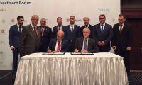 تجديد توقيع اتفاقية مجلس الأعمال الفلسطيني التركي المشترك