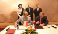 توقيع اتفاقية لتأسيس مجلس اعمال فلسطيني بولندي مشترك