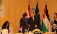 توقيع اتفاقية لانشاء مجلس اعمال فلسطيني هولندي مشترك