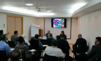 لقاء مع مجموعة من المتدربين في برنامج الملحقين التجاريين