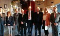 إتحاد جمعيات رجال الأعمال الفلسطينيين يلتقي مع وفد من وزارة الخارجية من دولة لاتفيا