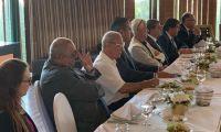 غداء عمل بدعوة كريمة من القنصل الاندونيسي الفخري في فلسطين