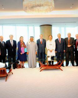 الملتقى الرابع عشر لمجتمع الأعمال العربي - قطر