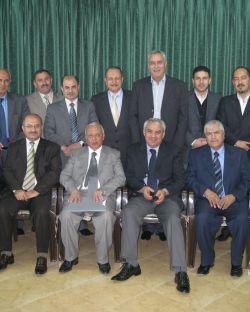 إجتماعات مجلس إدراة إتحاد رجال الأعمال الفلسطينيين