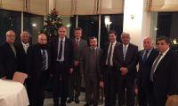 القنصل الفرنسي العام في القدس يستقبل أعضاء مجلس إدارة جمعية رجال الأعمال