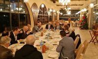 لقاء جمعية رجال الأعمال مع رئيس الشؤون الإقتصادية والتجارية القبرصي