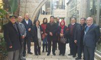 إتحاد جمعيات رجال الأعمال الفلسطينيين يستقبل السفير الأندونيسي في رام الله