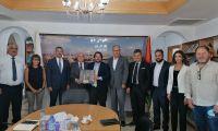 جمعية رجال الأعمال الفلسطينيين تبحث تعزيز العلاقات الفلسطينية – التشيلية