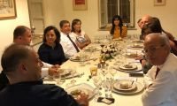 اجتماع ممثلي جمعيه رجال الاعمال مع القنصل السويسري لفلسطين