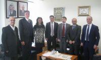 راديك روبيش يبحث مع ممثلي القطاع الخاص  سبل تفعيل العلاقات الإقتصادية الثنائية  بين دولة التشيك وفلسطين