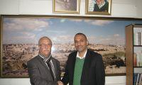 الحساينه يزور مقر اتحاد جمعيات رجال الأعمال