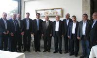 جمعية رجال الاعمال الفلسطينيين  تستقبل السفير التونسي الحبيب بن فرح