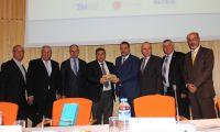 وفد من اتحاد جمعيات رجال الاعمال الفلسطينيين عاد من تركيا